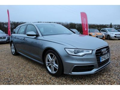 Audi A6 Unspecified Estate Avant Tdi Quattro S Line