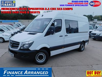 Mercedes-Benz Sprinter Combi Van SOLD SOLD SOLD