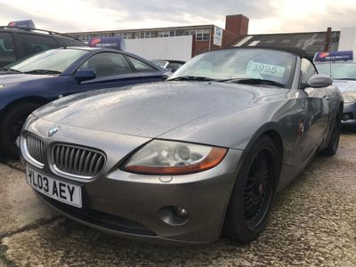 BMW Z4 Convertible 3.0 i Roadster 2dr Petrol Manual (221 g/km, 231 bhp)