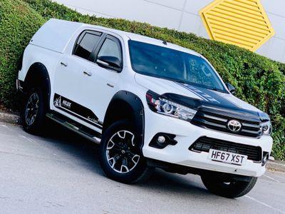 Toyota Hilux Pickup 2.4 D-4D Invincible X Double Cab Pickup Auto 4WD EU6 4dr (TSS, 3.5t)
