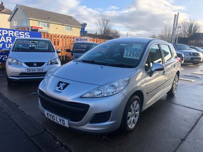 Peugeot 207 SW Estate 1.6 HDi S 5dr (a/c)