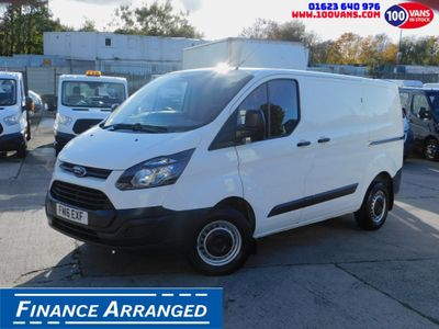 Ford Transit Custom Panel Van 2.2TDCI 105PS L1 H1 LOW MILES F/S/H
