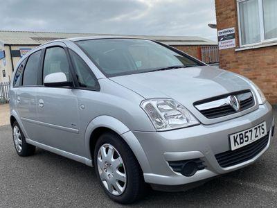 Vauxhall Meriva MPV 1.4 i 16v Breeze 5dr