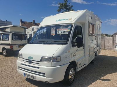 Autocruise Sorry now sold Low Profile Peugeot boxer 1.9 td