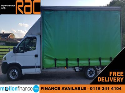 Vauxhall Movano Curtain Side MOVANO 13FT CURTAINSIDER NO VAT TO PAY