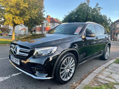 Mercedes-Benz GLC Class SUV 2.1 GLC250d AMG Line (Premium) G-Tronic 4MATIC (s/s) 5dr