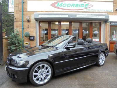 BMW 3 Series Convertible 2.0 318Ci M Sport 2dr