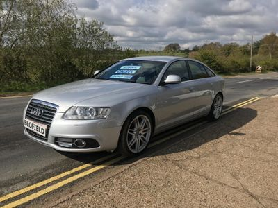 Audi A6 Saloon Saloon 2.7 TDI S line Special Edition 4dr