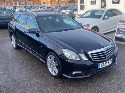 Mercedes-Benz E Class Estate 2.1 E220 CDI BlueEFFICIENCY Sport Auto 5dr