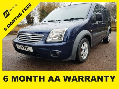Ford Transit Connect Panel Van 1.8 TDCi T200 SWB Limited Panel Van 4dr