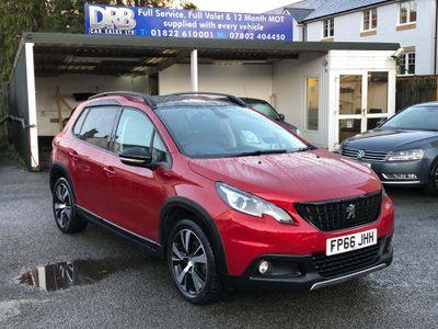 Peugeot 2008 SUV 1.2 PureTech GT Line EAT (s/s) 5dr