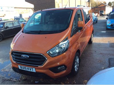 Ford Transit Custom Other 2.0 300 EcoBlue Limited DCIV Auto L2 H1 EU6 (s/s) 5dr (6 Seat)