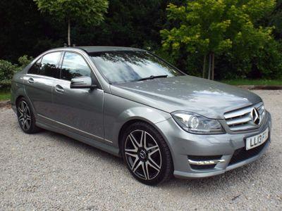 Mercedes-Benz C Class Saloon 2.1 C250 CDI BlueEFFICIENCY AMG Sport Plus 4dr