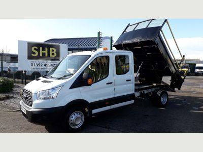 Ford Transit Tipper 350 L3 RWD 125 ps D\C utility tipper