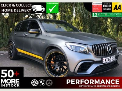 Mercedes-Benz GLC Class SUV 4.0 GLC63 V8 BiTurbo AMG S Edition 1 SpdS MCT 4MATIC+ (s/s) 5dr