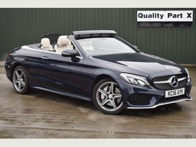 Mercedes-Benz C Class Convertible 2.0 C300 AMG Line Cabriolet G-Tronic+ (s/s) 2dr