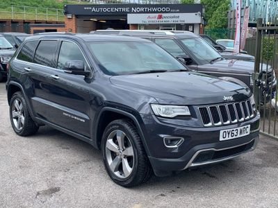 Jeep Grand Cherokee SUV 3.0 CRD Limited Auto 4WD 5dr