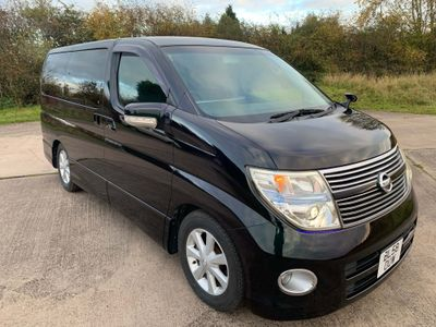 Nissan Elgrand MPV 2.5 Highway Star Full H/Lther Reclining