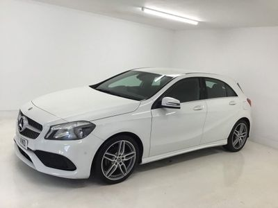 Mercedes-Benz A Class Hatchback 1.5 A180d AMG Line (Executive) 7G-DCT (s/s) 5dr