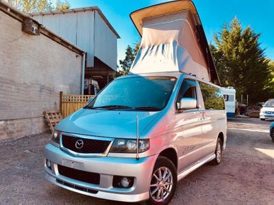 Mazda BONGO AFT 4 BERTH BRAND NEW SIDE CAMPER Unlisted CONVERSION RUST FREE FRESH IMPORT LOW MILES 51K AERO