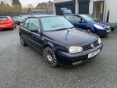 Volkswagen Golf Convertible 2.0 S 2dr