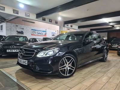 Mercedes-Benz E Class Saloon 2.1 E220 CDI BlueTEC AMG Night Edition 7G-Tronic Plus 4dr