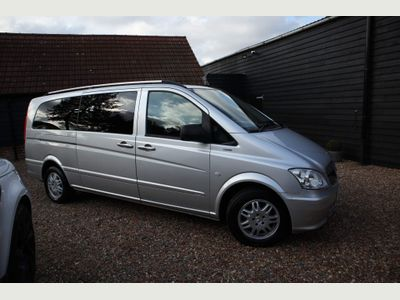 Mercedes-Benz Vito Other 2.1 110CDI BlueEFFICIENCY Shuttle Compact Bus 5dr (EU5, 8 Seats)