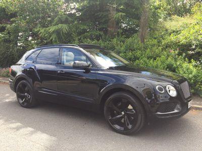 Bentley Bentayga SUV 6.0 W12 Mulliner Auto 4WD (s/s) 5dr 5 Seat