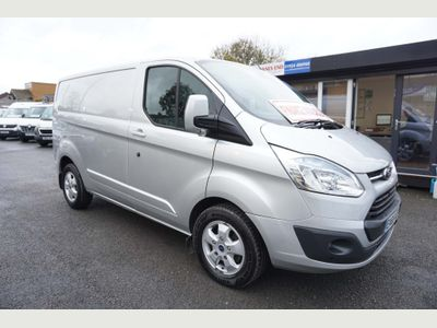 Ford Transit Custom Panel Van 2.2 TDCi 270 L1H1 Limited 5dr