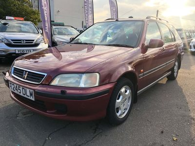 Honda Civic Estate 1.6 i ES 5dr (Sun Roof, a/c)