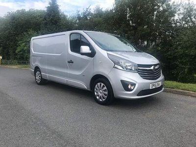 Vauxhall Vivaro Panel Van NO VAT 1.6 CDTI SPORTIVE LWB NO VAT