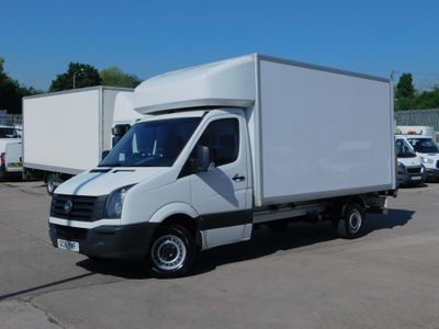 Volkswagen Crafter Luton 2.0TDCI CR35 LWB LUTON & TAIL LIFT F/S/H