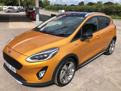 Ford Fiesta Hatchback 1.5 TDCi Active X (s/s) 5dr