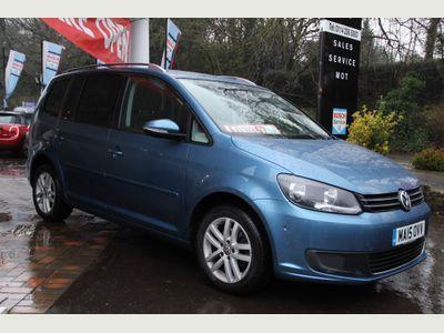 Volkswagen Touran MPV 1.6 TDI BlueMotion Tech SE DSG 5dr (7 Seats)