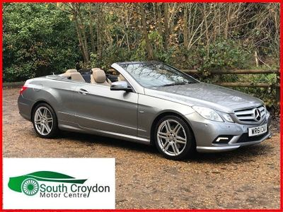 Mercedes-Benz E Class Convertible 1.8 E200 BlueEFFICIENCY Sport Edition 125 Cabriolet 7G-Tronic Plus (s/s) 2dr