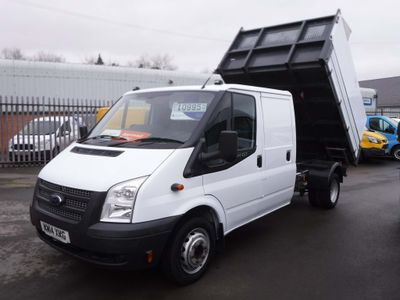 Ford Transit Tipper 2.2TDCI T350 125ps Factory D/C Tipper