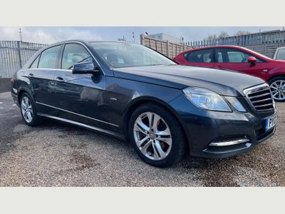 Mercedes-Benz E Class Saloon 2.1 E220 CDI BlueEFFICIENCY SE (Executive) G-Tronic 4dr