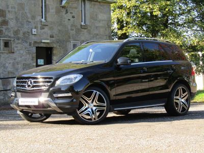 Mercedes-Benz M Class SUV 2.1 ML250 CDI BlueTEC SE (Executive Premium) 7G-Tronic Plus 4x4 5dr