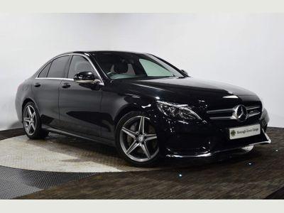Mercedes-Benz C Class Saloon 2.1 C250d AMG Line G-Tronic+ (s/s) 4dr