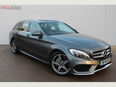 Mercedes-Benz C Class Estate 2.1 C220d AMG Line G-Tronic+ (s/s) 5dr