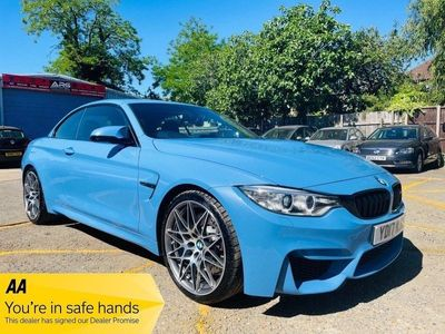 BMW M4 Convertible 3.0 Competition M DCT (s/s) 2dr