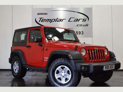 Jeep Wrangler SUV 2.8 CRD Sport 4WD (s/s) 2dr