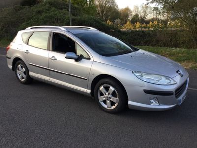 Peugeot 407 SW Estate 1.6 HDi S 5dr