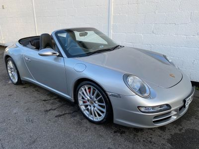 Porsche 911 Convertible 3.8 997 Carrera 4S Cabriolet Tiptronic S AWD 2dr