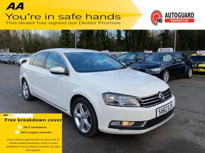 Volkswagen Passat Saloon 1.6 TDI BlueMotion Tech SE 4dr