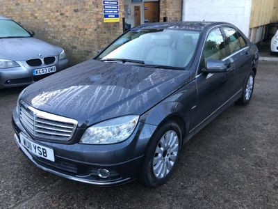 Mercedes-Benz C Class Saloon 2.1 C250 CDI BlueEFFICIENCY Elegance 4dr