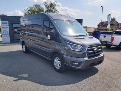 Ford Transit Panel Van **NO VAT** 350 L3 H2 LIMITED 185 PS FWD