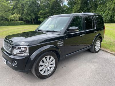 Land Rover Discovery 4 Panel Van 3.0 SD V6 SE LCV Auto 4WD 5dr