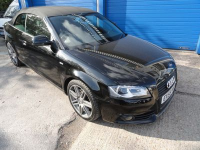 Audi A3 Cabriolet Convertible 2.0 TFSI Black Edition 2dr