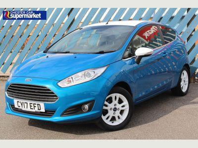 Ford Fiesta Hatchback 1.0 T EcoBoost Zetec Blue Edition (s/s) 3dr